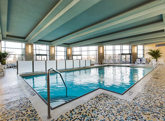 learn to swim at the brookstreet hotel in kanata