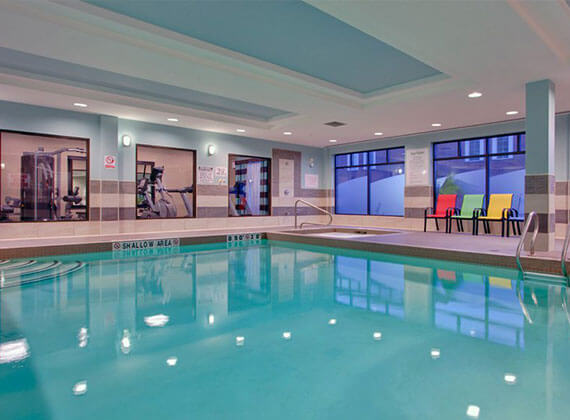 Learn To Swim At The Holiday Inn Express Suites In Nepean